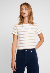 Roxy - NEW YORK MINUTE - T-shirt med print - mauvewood mom tea - 0