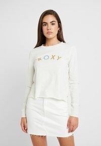Roxy - ALL THE STARS - Långärmad tröja - snow white - 0