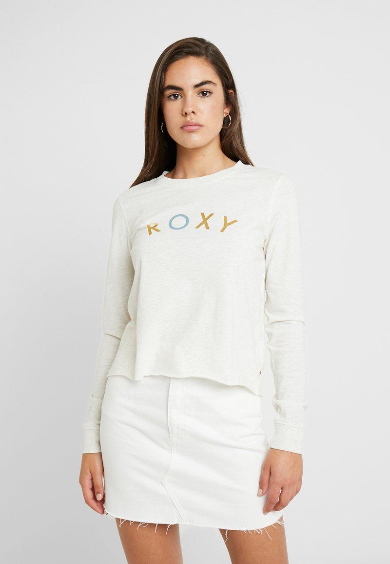 Roxy - ALL THE STARS - Långärmad tröja - snow white