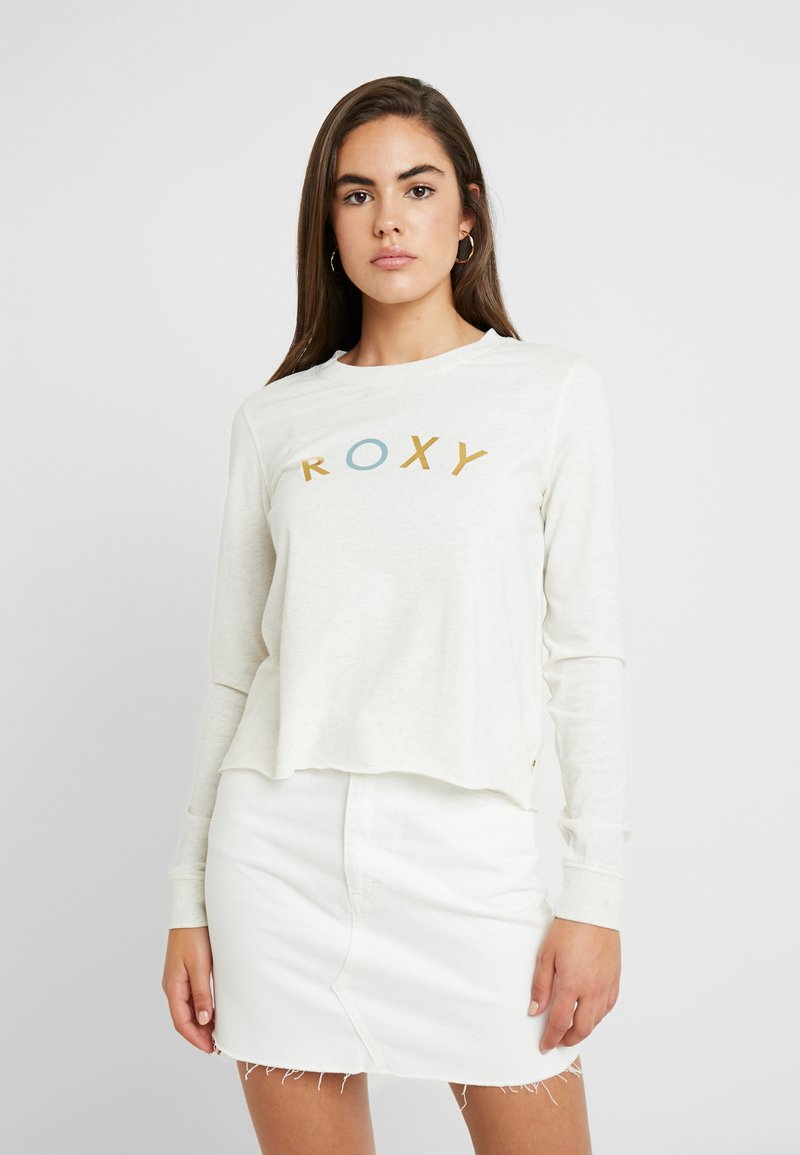 Roxy - ALL THE STARS - Langarmshirt - snow white