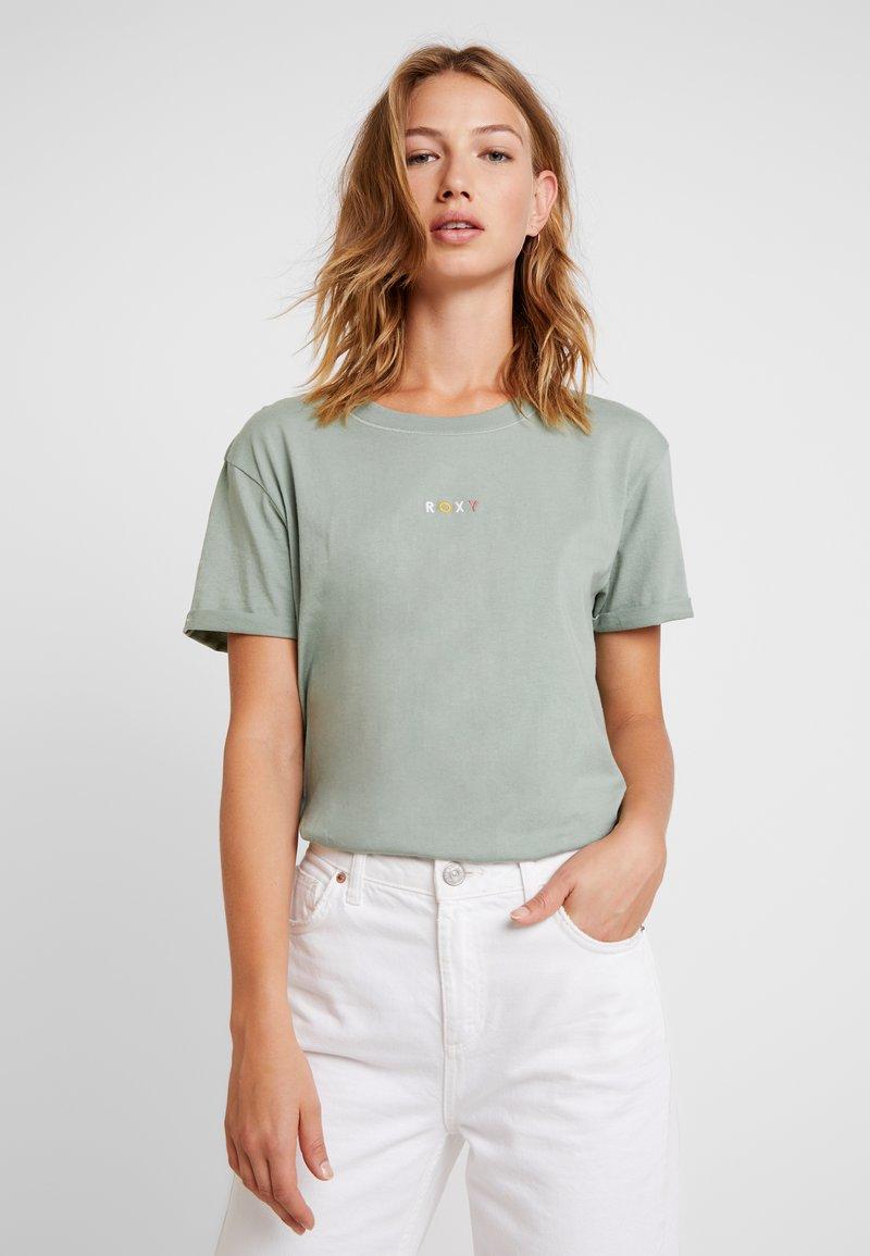 Roxy - SURFINGRHYMA TEES - T-Shirt print - green