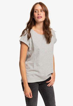 Print T-shirt - heritage heather