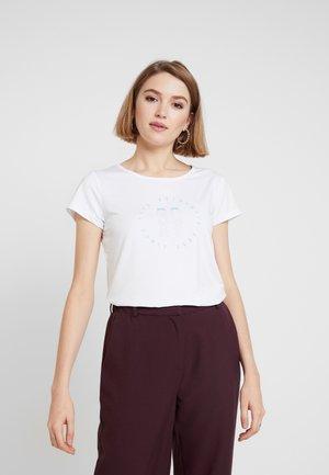LAST DANCE TEE - Print T-shirt - white