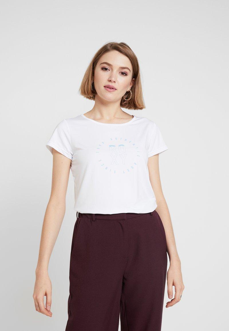 Roxy - LAST DANCE TEE - T-Shirt print - white