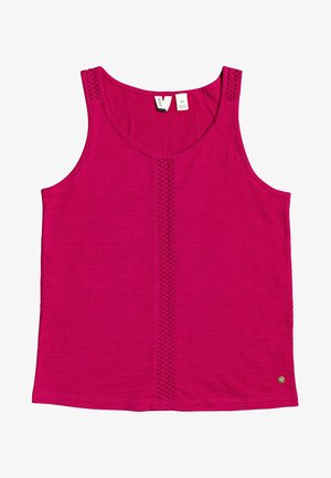 FLYING DOVE - Top - cerise