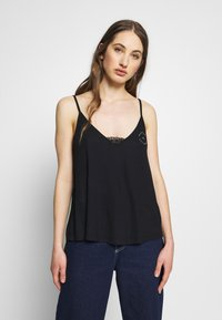 Roxy - CHILL ZONE TEES - Topper - anthracite - 0