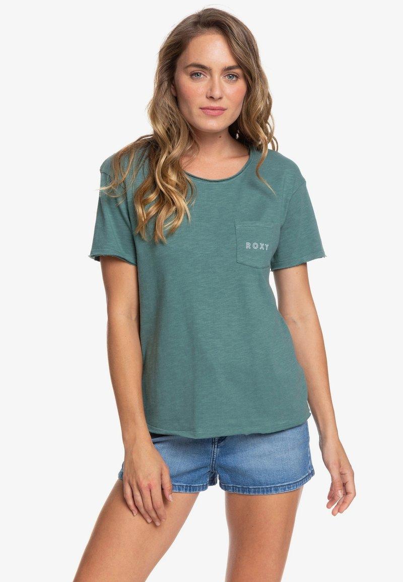 Roxy - STAR SOLAR - T-shirt print - blue
