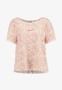 Roxy - BETWEEN - T-shirt med print - ivory/cream/peony stamp - 4