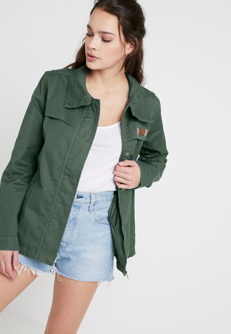 Roxy - FREEDOM FALL - Summer jacket - duck green