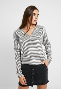 Roxy - SWEET THING - Jersey con capucha - anthracite marina - 0