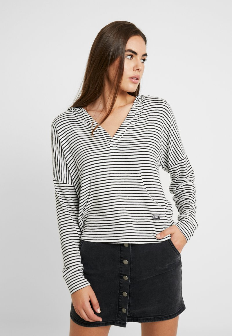 Roxy - SWEET THING - Jersey con capucha - anthracite marina