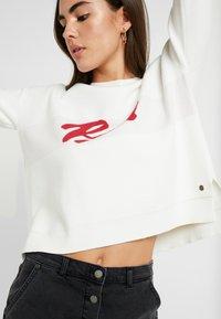 Roxy - EXCHANGE YOUR - Stickad tröja - snow white - 3