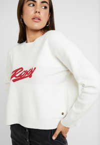 Roxy - EXCHANGE YOUR - Stickad tröja - snow white - 5