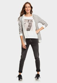Roxy - TRIPPIN  - Hoodie met rits - anthracite - 1