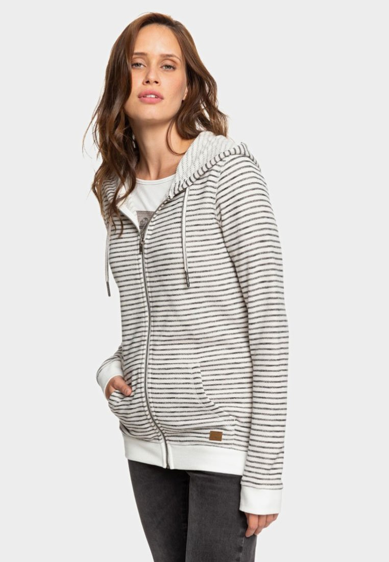 Roxy - TRIPPIN  - Hoodie met rits - anthracite
