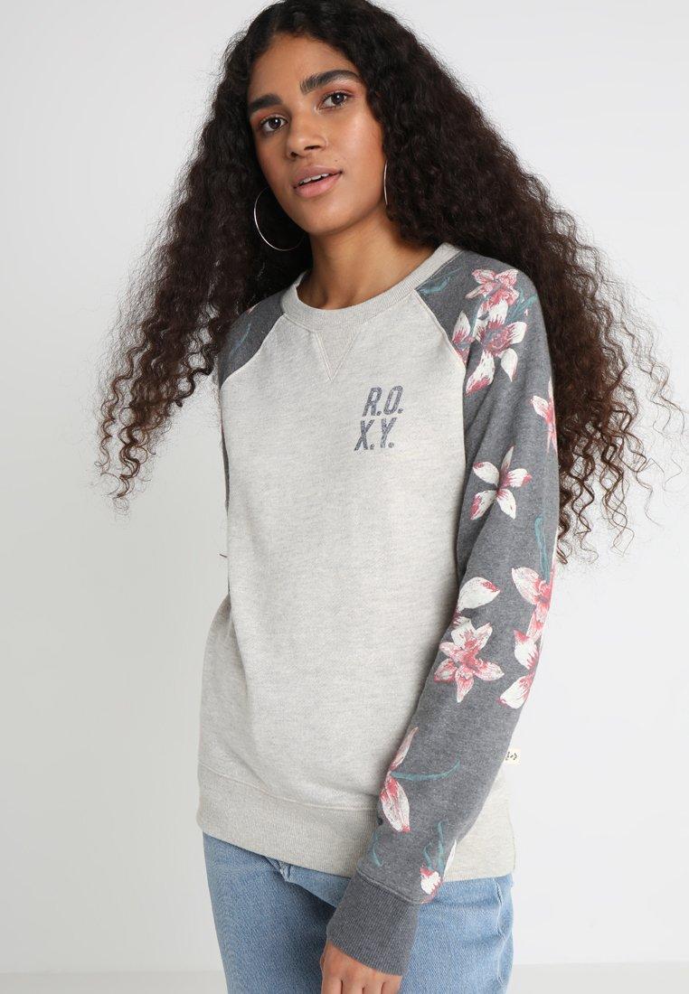 Roxy - Sweatshirt - charcoal heather flower field