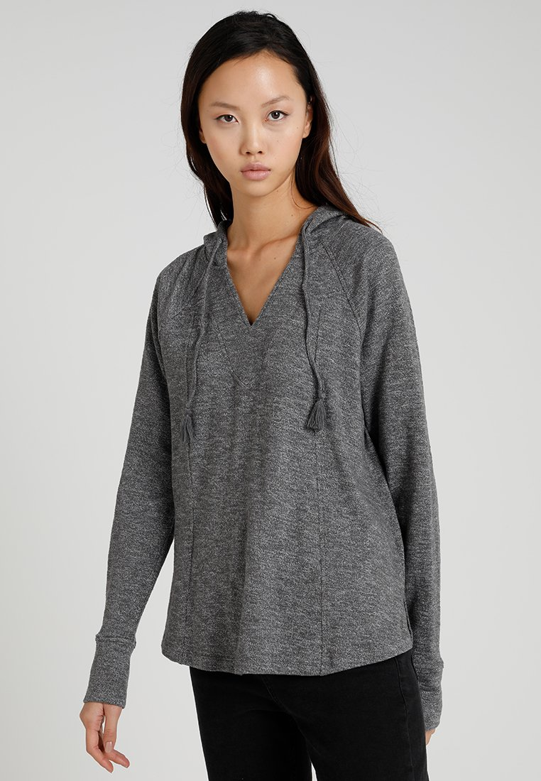 Roxy - WILD DREAMING - Kapuzenpullover - charcoal heather