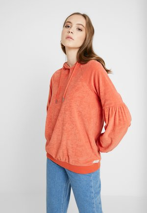 RAY OF SUN HOOD - Jersey con capucha - mecca orange