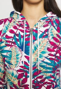 Roxy - GOING RIGHT - Zip-up hoodie - snow white paradise - 5