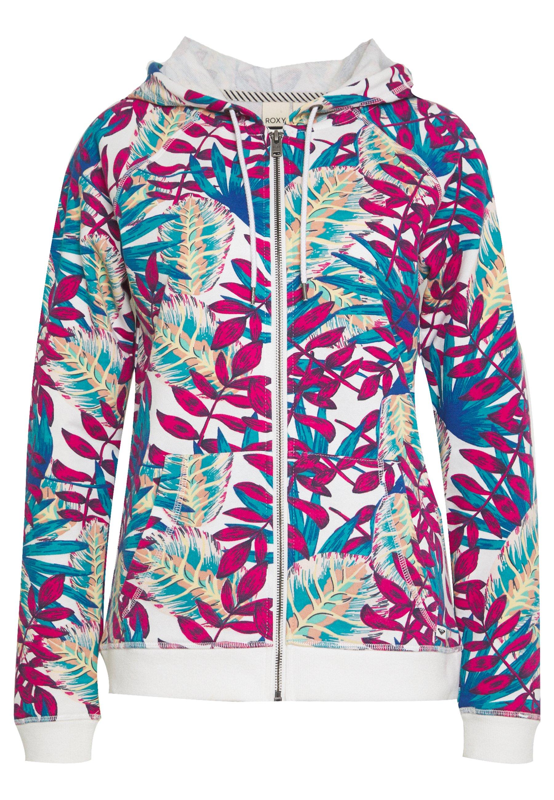 Roxy GOING RIGHT veste en sweat zippée snow white
