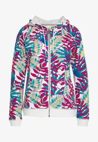 Roxy - GOING RIGHT - Zip-up hoodie - snow white paradise - 4