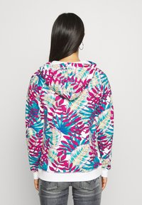 Roxy - GOING RIGHT - Zip-up hoodie - snow white paradise - 2