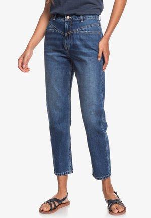 CALM AT SUNRISE - Straight leg jeans - dark indigo