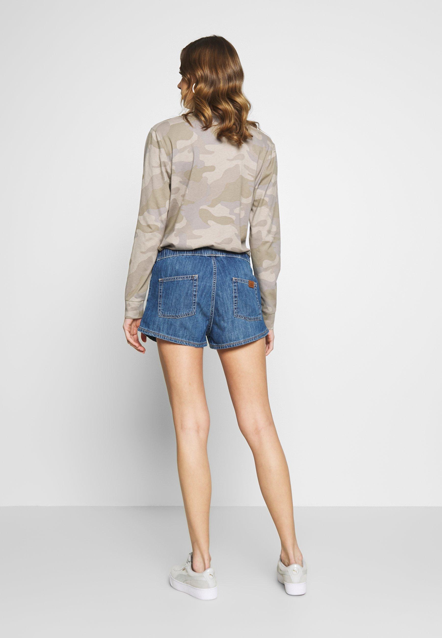 Roxy Go To The Beach - Jeans Short / Cowboy Shorts Medium Blue