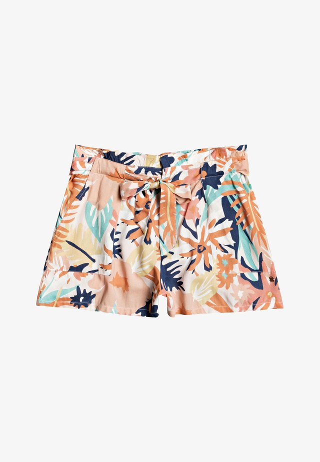 Shorts - peach blush/bright skies