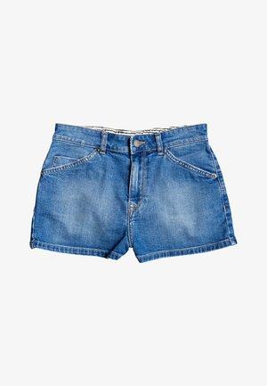 COMINO BLUE LAGOON - Denim shorts - medium blue