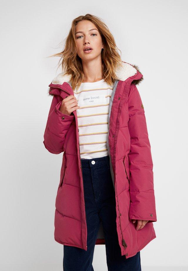 ELLIE - Zimní kabát - deep claret