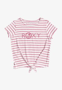 Roxy - T-shirt imprimé - white/red - 0