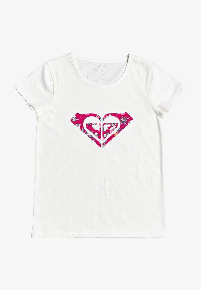 T-shirt print - snow white