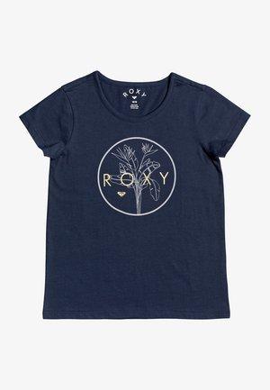 Print T-shirt - mood indigo