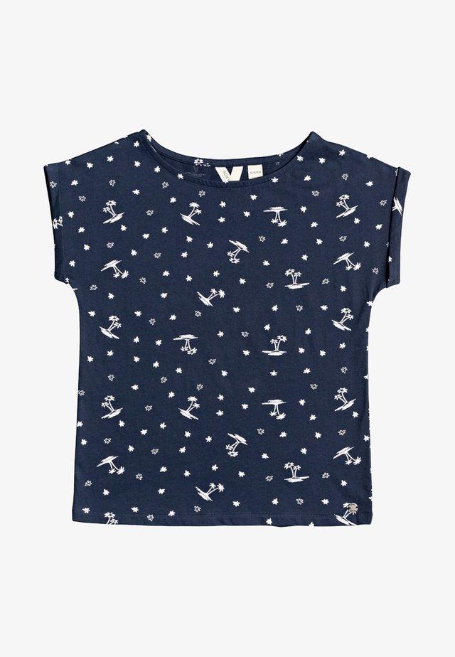 AFRICAN SUNSET - T-shirt print - blue