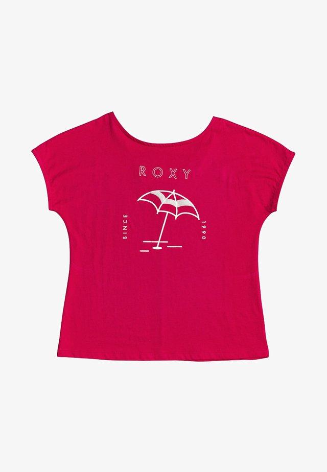 T-shirt print - cerise