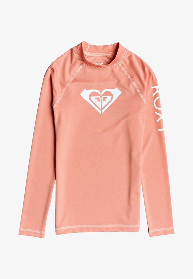 WHOLE HEARTED - Surfshirt - terra cotta
