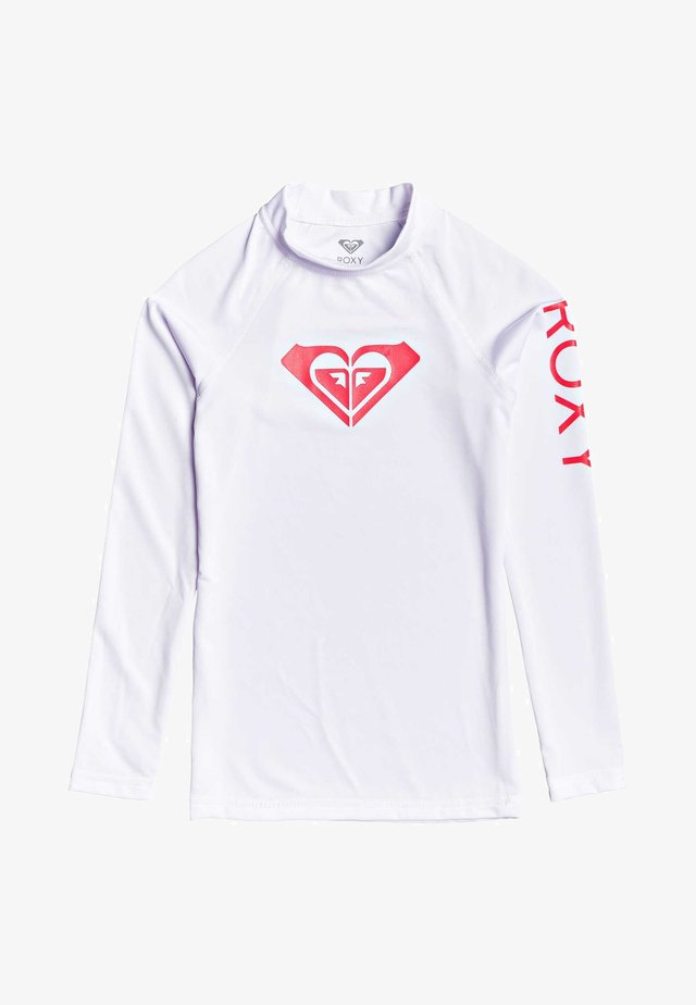 WHOLE HEARTED - Surfshirt - white