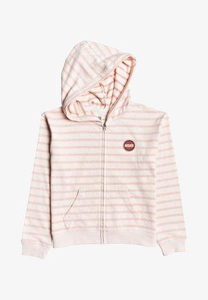 LET ME IN - veste en sweat zippée - pink