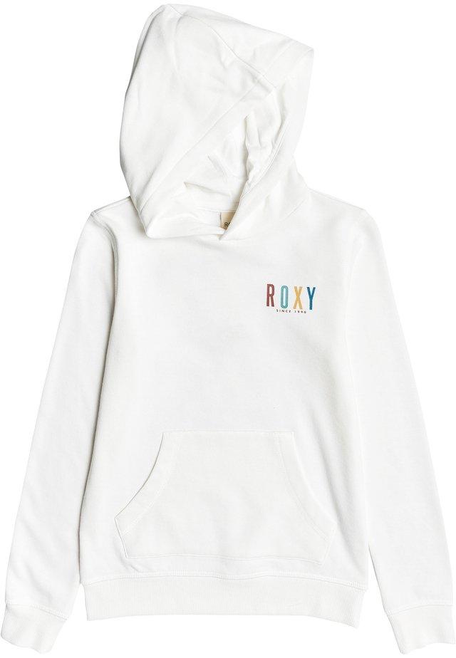 ROXY™ CALM VIBES - KAPUZENPULLI FÜR MÄDCHEN 4-16 ERGFT03510 - Hoodie - snow white
