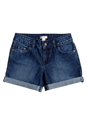 FRIEND ZONE  - Denim shorts - dark indigo