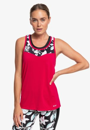 ROXY™ HIGH AS HOPE - SPORT-TOP FÜR FRAUEN ERJKT03625 - Top - red
