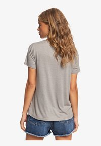 Roxy - ROXY™ CHASING THE SWELL - T-SHIRT FOR WOMEN ERJZT04795 - Print T-shirt - heritage heather - 2