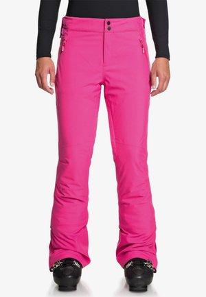 MONTANA - Skibroek - beetroot pink