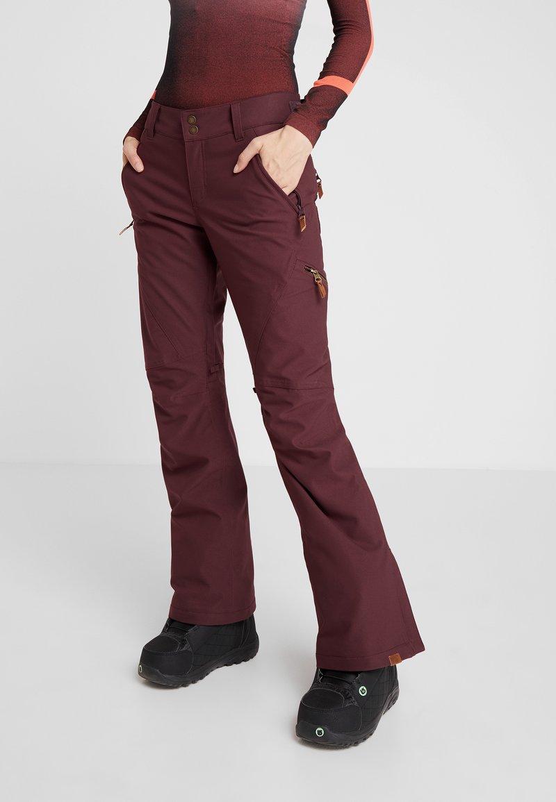 Roxy - CABIN - Pantaloni da neve - grape wine