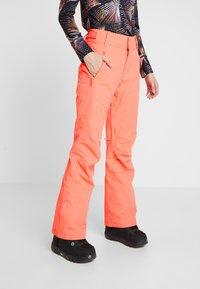 Roxy - Pantalon de ski - living coral - 0