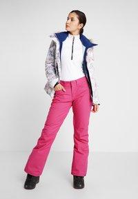 Roxy - BACKYARD  - Skibroek - beetroot pink - 1