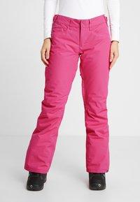 Roxy - BACKYARD  - Skibroek - beetroot pink - 0