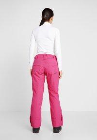 Roxy - BACKYARD  - Skibroek - beetroot pink - 2