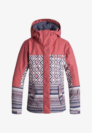 JETTY BLOCK - Snowboardjas - pink